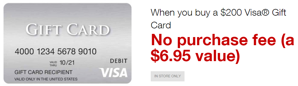 Fee Free Staples Visa Gift Card $200 + 5x on ChaseInk